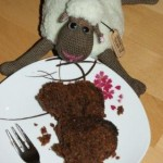 Hannes and the chocolate cake